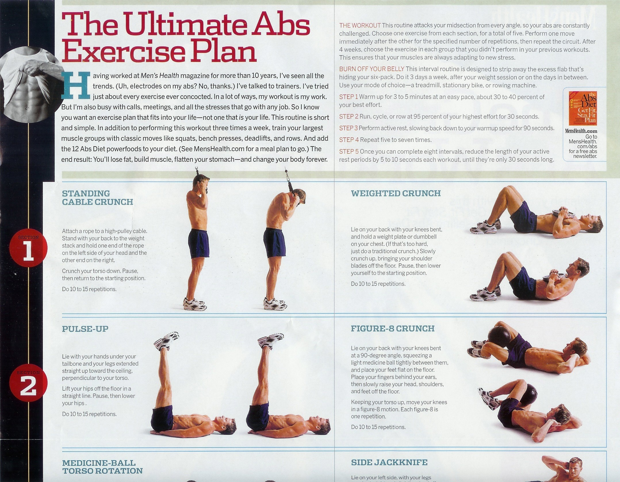 Abs exercise chart 1g nvjuhfo Choice Image
